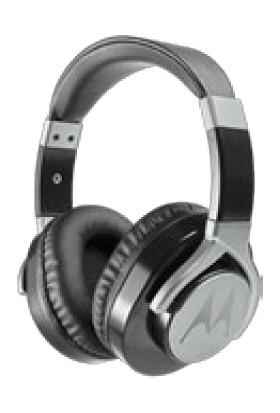 Motorola Moto Pulse Max Siyah Kablolu Kulaklık