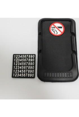 Space Kaydırmaz Ped - Sigara İçilmez - Siyah