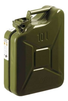 Boostzone Metal Benzin Bidonu 10 Lt
