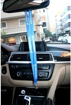 Boostzone Volkswagen Ayna Boyun Askı İpi Anahtarlık Mavi