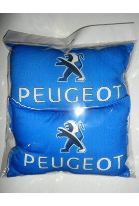 Boostzone Peugeot Boyun Yastığı Minderi Mavi ( 2 Adet )