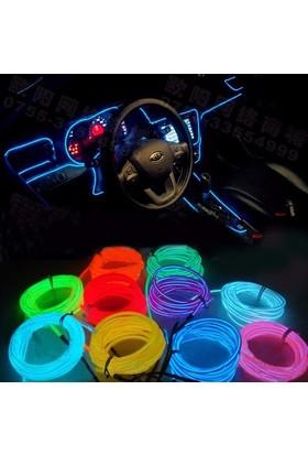Boostzone Araç İçi Neon Aydınlatma Mor 5 Metre