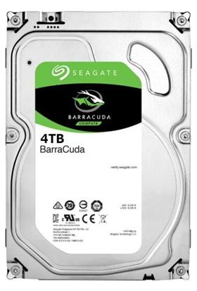 "Seagate Barracuda 4TB 3.5"" 7200RPM 64MB Cache Sata 3 Sabit Disk (ST4000DM004)"