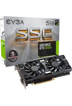 EVGA Nvidia GeForce GTX 1050 Ti SSC Gaming ACX 3.0 4GB 128Bit GDDR5 (DX12) PCI-E 3.0 Ekran Kartı 04G-P4-6255-KR