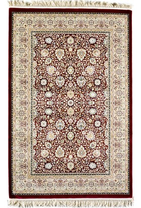 Saray Saltanat Bordo Halı 80x150