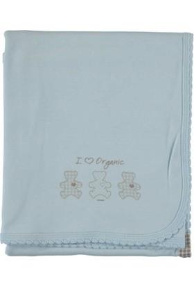 Baby Center S75998 Organik Penye Bebek Battaniyesi