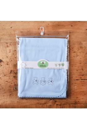 Kitikate S75530 Organik Penye Battaniye Tek Kat