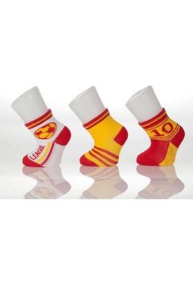 Bibaby 55910 Taraftar 3'lü Bebek Çorabı