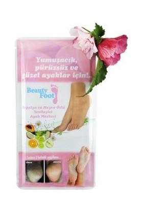 Beauty Foot Papatya ve Meyve Özlü Yenileyici Ayak Bakım Maskesi 1 adet