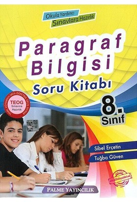 8. Sınıf Teog Paragraf Bilgisi Soru Kitabı Palme Yayınları