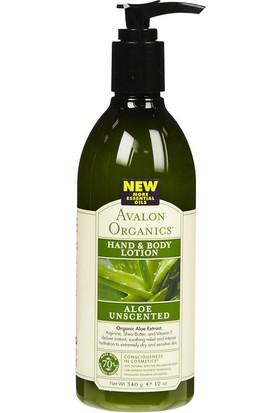 Avalon Organics Aloe Kokusuz El Ve Vücut Losyonu 340 gr