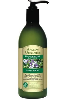 Avalon Organics Biberiye Özlü El Ve Vücut Losyonu 340 gr