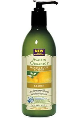 Avalon Organics Limon Özlü El Ve Vücut Losyonu 340 gr