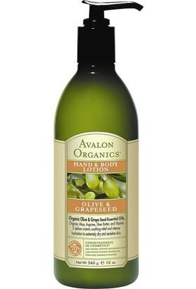 Avalon Organics Zeytin Ve Üzüm Çekirdeği Yağı Özlü Losyon 340 gr
