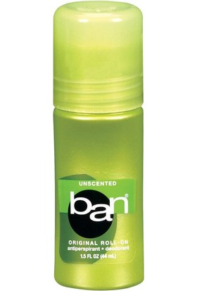 Ban Unscented Roll-On Antiperspirant Deodorant 44 ml