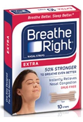 Breathe Right Extra Burun Bandı 10Lu Paket