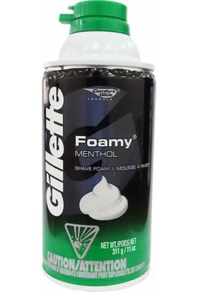 Gillette Menthol Tıraş Köpüğü 311 gr