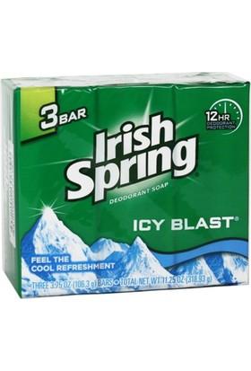 Irish Spring Icy Blast Sabun 3Lü Paket