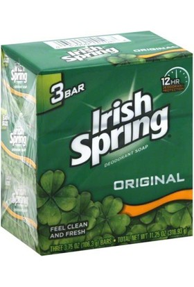Irish Spring Original Sabun 3Lü Paket