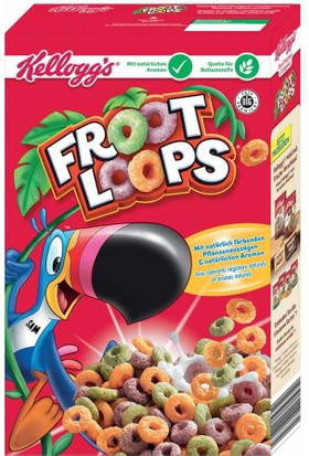 Kellogg's Froot Loops Kahvaltılık Gevrek 375 gr