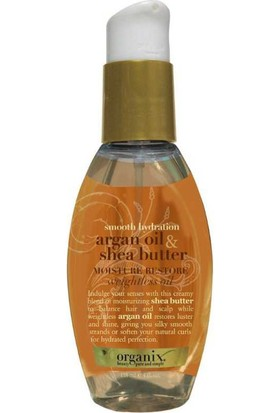 Organix Argan Oil Shea Moisture Restore Weightless Oil 118 ml