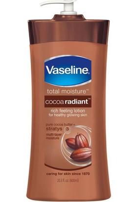 Vaseline Kakao Işıltısı Nemlendirici Vücut Losyonu 600 ml