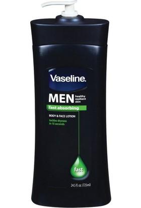 Vaseline Men Hızlı Emilen Vücut Ve Yüz Losyonu 725 ml