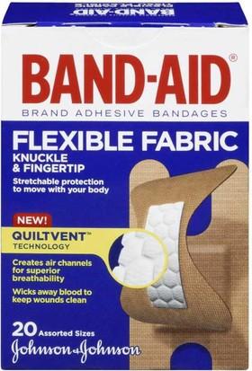 Band-Aid Flexible Fabric Yara Bandı 20'li Karışık Ölçü