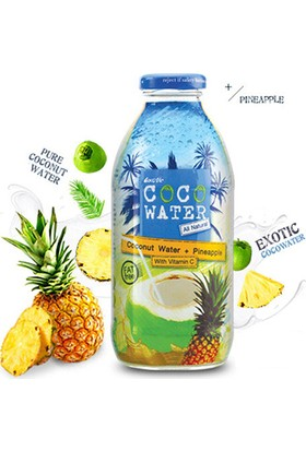 Exotic Coco Water Ananas Ve Hindistan Cevizi Suyu İçeceği 250 ml