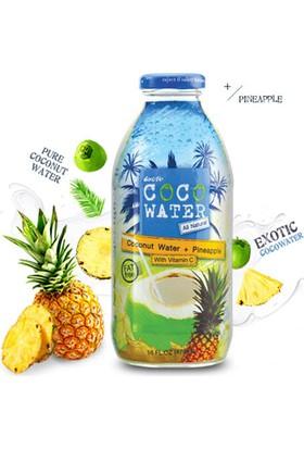 Exotic Coco Water Ananas Ve Hindistan Cevizi Suyu İçeceği 473 ml