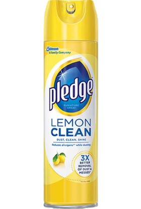 Pledge Limonlu Mobilya Temizleyici Ve Parlatıcı Sprey 274 gr