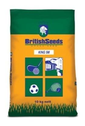 British Seeds, Kıng 5M (5'Li Karışım Çim Tohumu) 10Kg