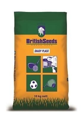 British Seeds, Shady Place (5'Li Karışım Çim Tohumu) 10Kg