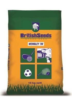 British Seeds, Wembley 7M (7'Li Karışım Çim Tohumu) 10Kg