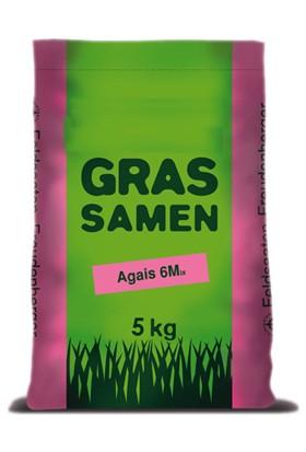 Grassamen, Agais 6M (6'Lı Karışım Çim Tohumu) 5Kg