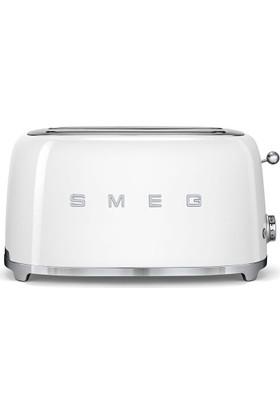 Smeg TSF02WHEU 2x4 Ekmek Kızartma Makinesi Beyaz