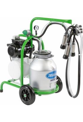 Sezer Milkkar Ssm 1 Alüminyum Güğümlü Süt Sağım Makinesi