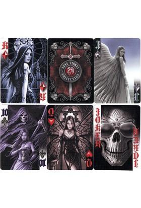Bicycle Anne Stokes Dark Hearts Poker İskambil Oyun Kartı Kağıdı Destesi Koleksiyonluk Cardistry Kartları