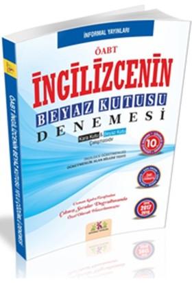 İnformal Yayınları Öabt İngilizcenin Beyaz Kutusu 10'Lu Çözümlü Denemesi