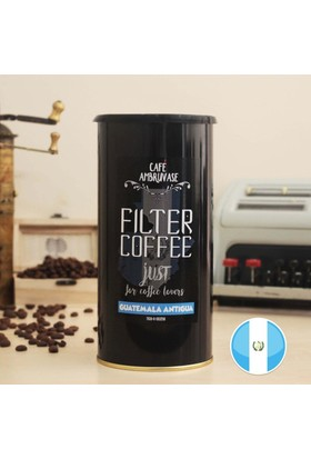 Cafe Ambruvase Guatemala Yöresel Filtre Kahve 250 Gr Teneke