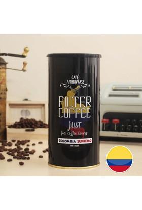 Cafe Ambruvase Kolombiya Supremo Yöresel Filtre Kahve 250 Gr Teneke