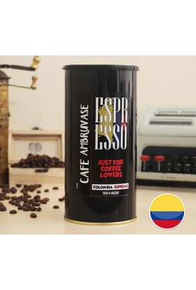 Cafe Ambruvase Kolombiya Yöresel Çekirdek Kahve Espresso 250 Gr