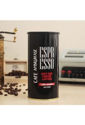 Cafe Ambruvase Arabica Çekirdek Kahve Espresso 250 Gr Teneke
