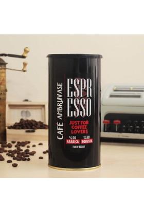 Cafe Ambruvase Harman Çekirdek Kahve Espresso 250 Gr Teneke