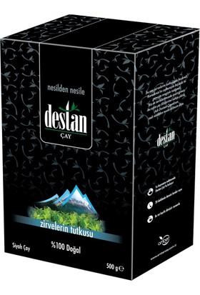 Destan Çay ( Kutu - Box ) %100 Doğal Siyah 500 gr