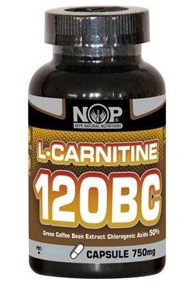 Nop Naturel NOP Nutrition L-Carnitine 120BC - Vitamin B6 Yeşil Kahve Çekirdeği Eks