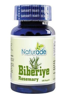 Naturade Biberiye 120 Kapsül 380mg | Rosemary