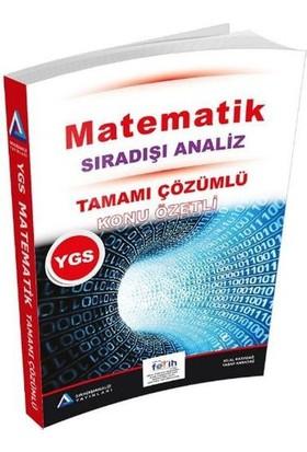 Sıradışı Analiz YGS Matematik Tamamı Çözümlü Konu Özetli Soru Bankası - Yaşar Karadağ