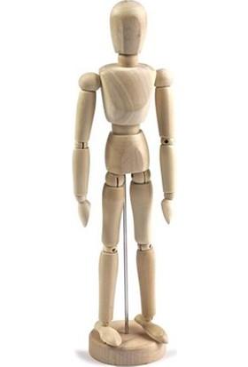 İdora Ahşap Model Manken 14 cm