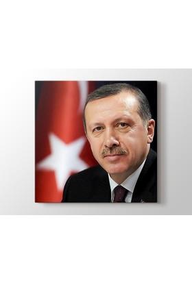 Martı Kanvas Tablo 50 X 50 Recep Tayyip Erdoğan Kanvas Tablo